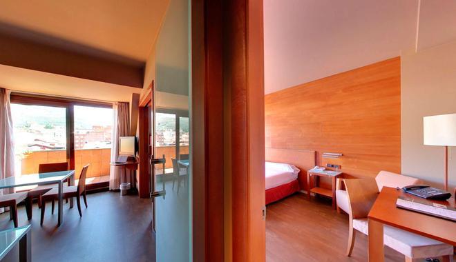 Silken Monumental Naranco - Oviedo - Phòng ngủ