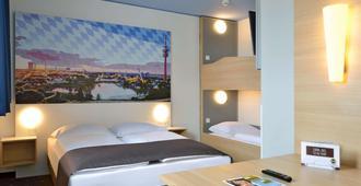 B&B Hotel München City-Nord - מינכן - חדר שינה