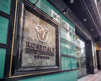 Rosedale Hotel Hong Kong - Hongkong - Outdoors view