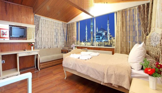 Optimist Hotel - Istanbul - Phòng ngủ