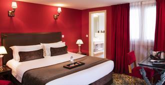 Hotel des Deux Continents - פריז - חדר שינה