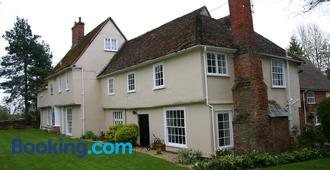 Stoke by Nayland B&B Poplars Farmhouse - Colchester - Building