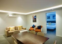 富豪棕櫚渡假村 - 羅托魯瓦 - 羅托魯瓦 - 客廳