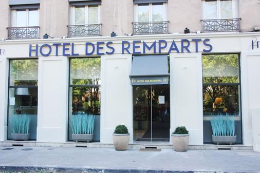 Hotel Des Remparts Perrache - Lyon - Building