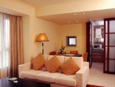 Kingland Service Apartment - Shanghai - Olohuone
