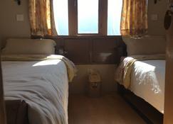 Hotel Khangri - Nāmche Bāzār - Bedroom