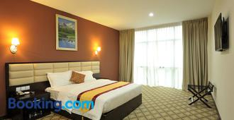 柔佛州新山霍爾馬克麗晶大酒店 - 新山 - 新山 - 臥室