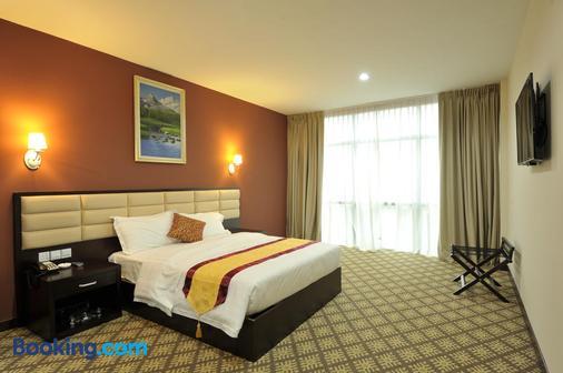 柔佛州新山霍爾馬克麗晶大酒店 - 新山 - 柔佛巴魯 - 臥室