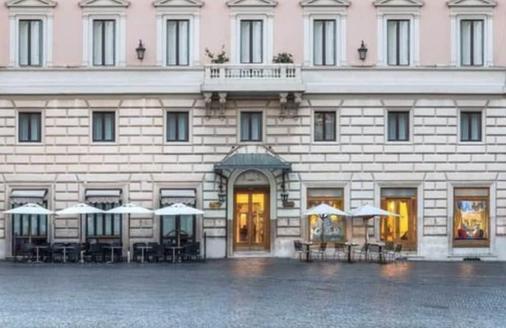 Albergo Del Senato - Rome - Building
