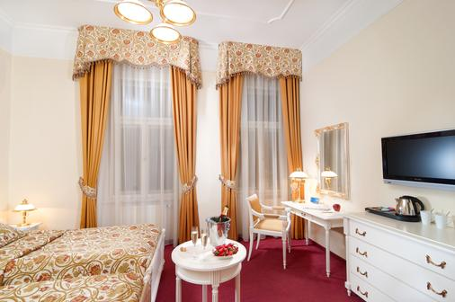 Alqush Downtown Hotel - Prag - Schlafzimmer