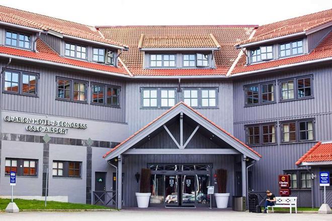 Clarion Hotel & Congress Oslo Airport - Gardermoen - Κτίριο