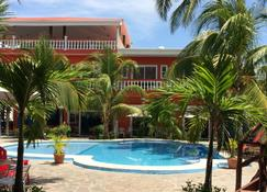SABAS Beach Resort - El Sunzal - Piscina