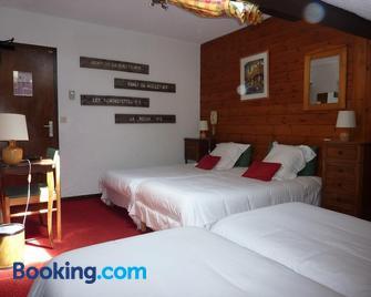 Hotel Les Glières - Champagny-en-Vanoise - Bedroom