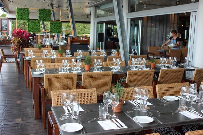 凱恩斯香格里拉大酒店 - 凱恩斯 - 餐廳