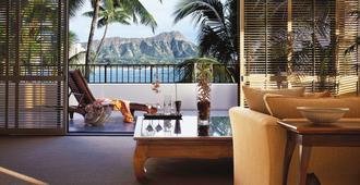 Halekulani - Honolulu - Makuuhuone