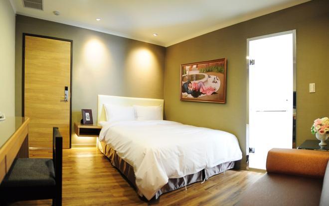 Garden Hotel Taichung - Taichung - Bedroom