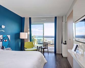 호텔 나폴레옹 망통 - 망통 - 침실