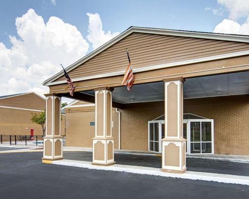 Econo Lodge Pine Bluff - Pine Bluff - Gebäude