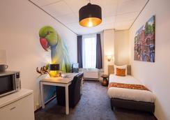 Amsterdam Teleport Hotel - Amsterdam - Bedroom