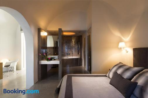 阿華頓溫泉度假酒店 - 聖托里尼 - 易莫洛林 - 臥室