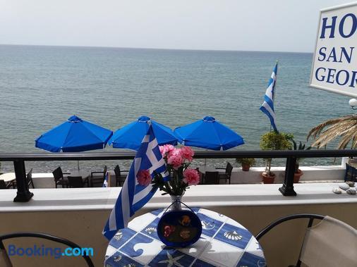 San Georgio Hotel - Tsoutsouros - Balcony