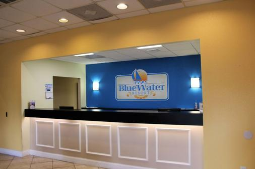 Bluewater Resort - Myrtle Beach - Vastaanotto