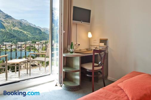 Schweizerhof Swiss Quality Hotel - St. Moritz - Bedroom