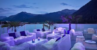 Hard Rock Hotel Davos - Davos - Parveke