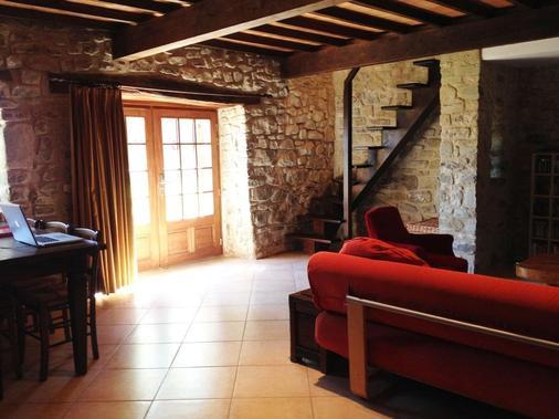 Week end en Provence - Chambres d'hotes - Comps - Living room