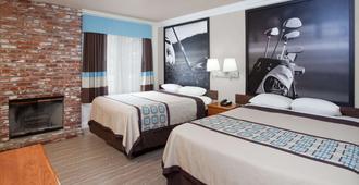 Super 8 by Wyndham Santa Clarita/Valencia - Santa Clarita - Bedroom