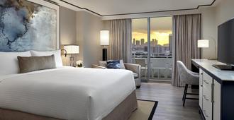 Loews Miami Beach Hotel - מיאמי ביץ' - חדר שינה