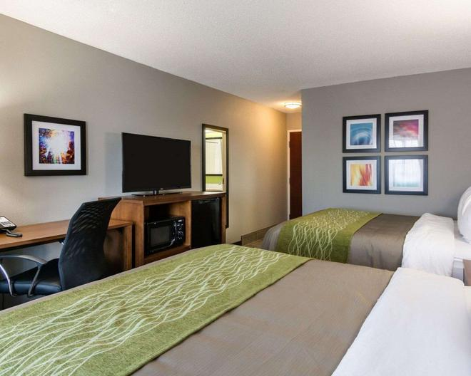 Quality Inn and Suites Ashland near Kings Dominion - Ashland - Bedroom