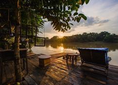 The Antique Riverside - Khung Phayom - Innenhof