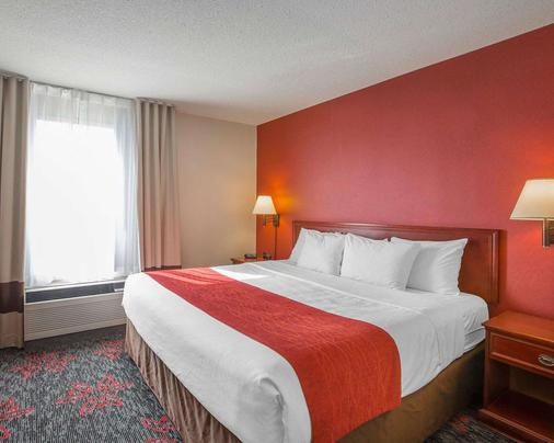 Comfort Inn & Suites University - Calgary - Schlafzimmer