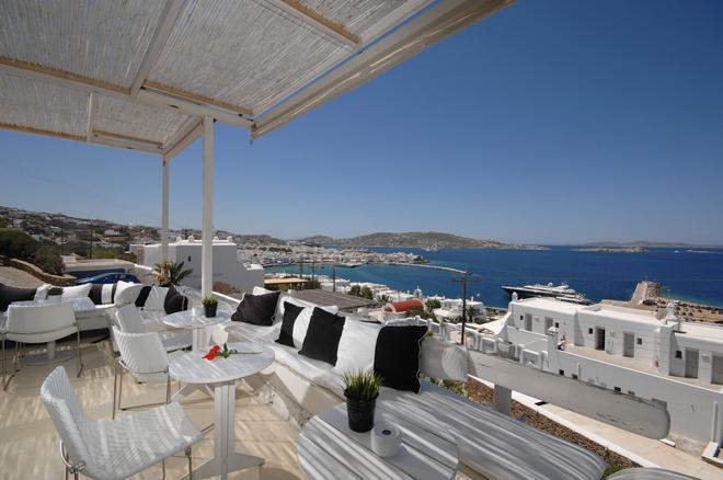 米克諾斯景致酒店 - 米科諾斯 - 米科諾斯島/麥科諾斯島 - 陽台