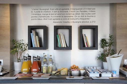 Best Western Plus Hotel Litteraire Alexandre Vialatte - Clermont-Ferrand - Buffet