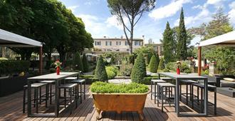 Hotel Le Pigonnet - Aix-en-Provence - Patio