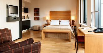 Clipper Elb-Lodge Apartments Hamburg - Hamburg - Schlafzimmer