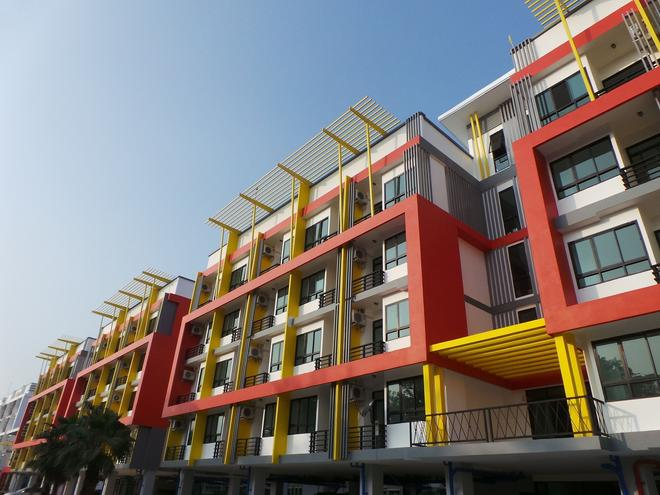 The Icon Service Apartment - Si Maha Phot - Building