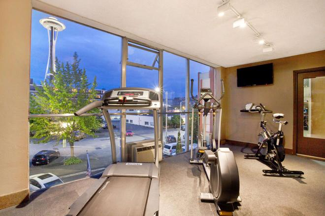 Travelodge by Wyndham Seattle By The Space Needle - Seattle - Gym