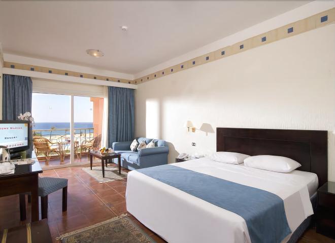 Dome Marina Hotel & Resort - Ain Sokhna - Bedroom