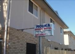 Molika Springs Motel - Moree - Rakennus