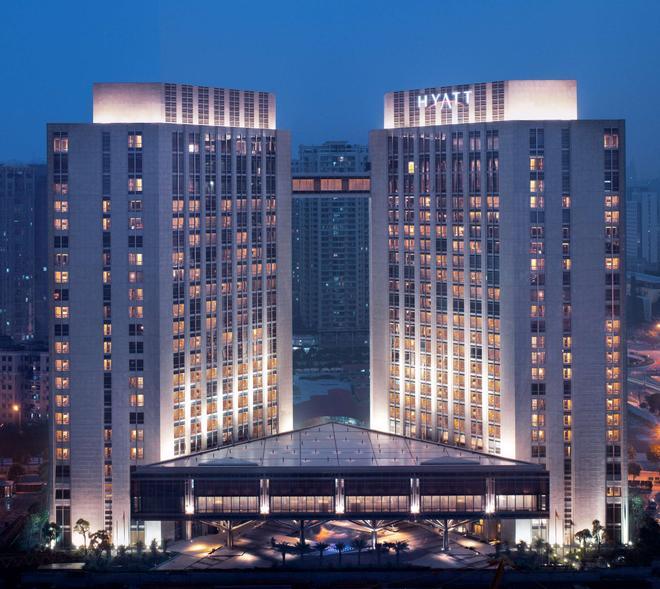 廣州富力君悅大酒店 - 廣州 - 建築