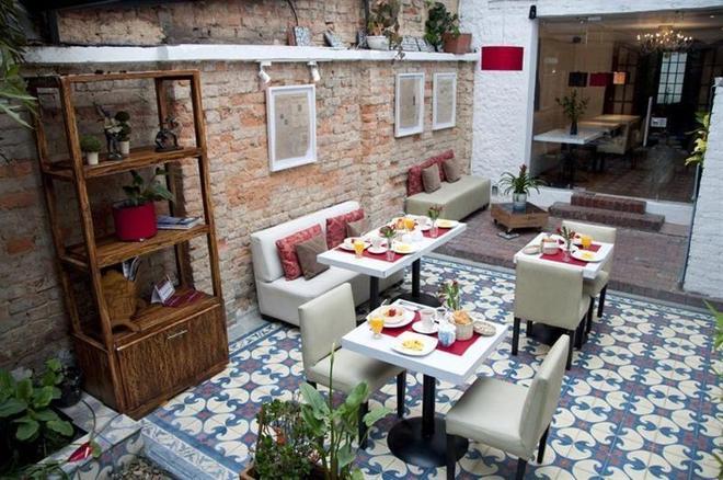 卡薩諾瓦絲精品酒店 - 波哥大 - 波哥大 - 餐廳