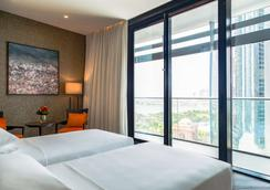 Grand Hyatt Abu Dhabi Hotel and Residences Emirates Pearl - Abu Dhabi - Schlafzimmer