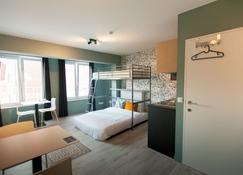 Smartflats Budget Louvain Central - Lovaina - Habitación