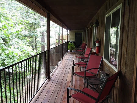 Lookout Lodge - Eureka Springs - Balcony