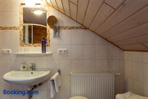 Zum Kirchenbauer - Oberammergau - Bathroom