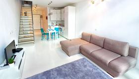 Qbik Loft Aparts - ורשה - סלון