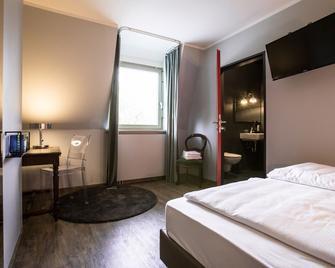 Hotel Heimathafen - Lörrach - Yatak Odası